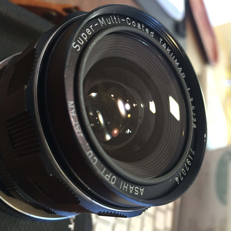 オールドレンズタクマー 55mm f1.8とタクマー 28mm f3.5レビュー
