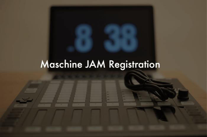 Maschine JAMのシリアルナンバーをNATIVE ACCESSに登録したのにダウンロードできなかった
