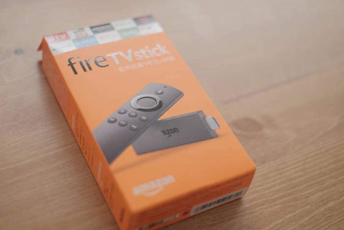 Amazon fire TV stick外観