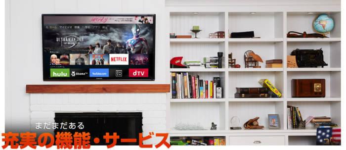 Amazon fire TV stickは他の動画サービスとも連携が取れる